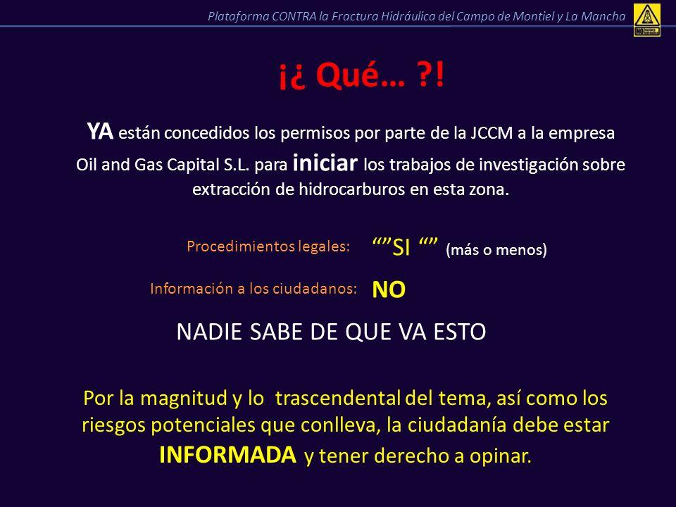 YA están concedidos los permisos por parte de la JCCM a la empresa