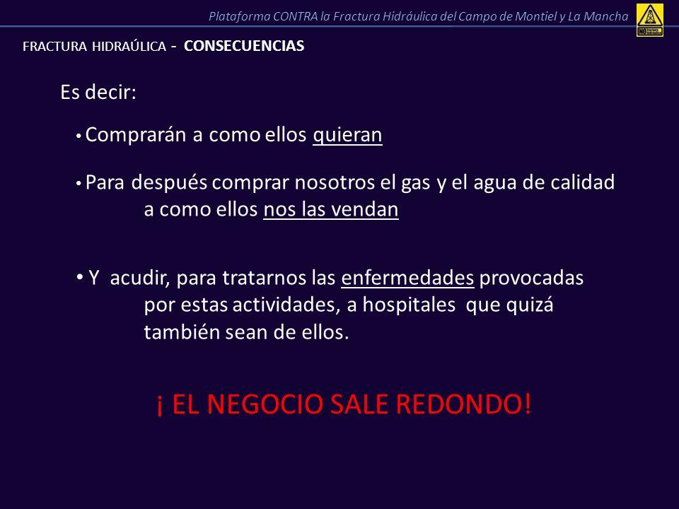 ¡ EL NEGOCIO SALE REDONDO!