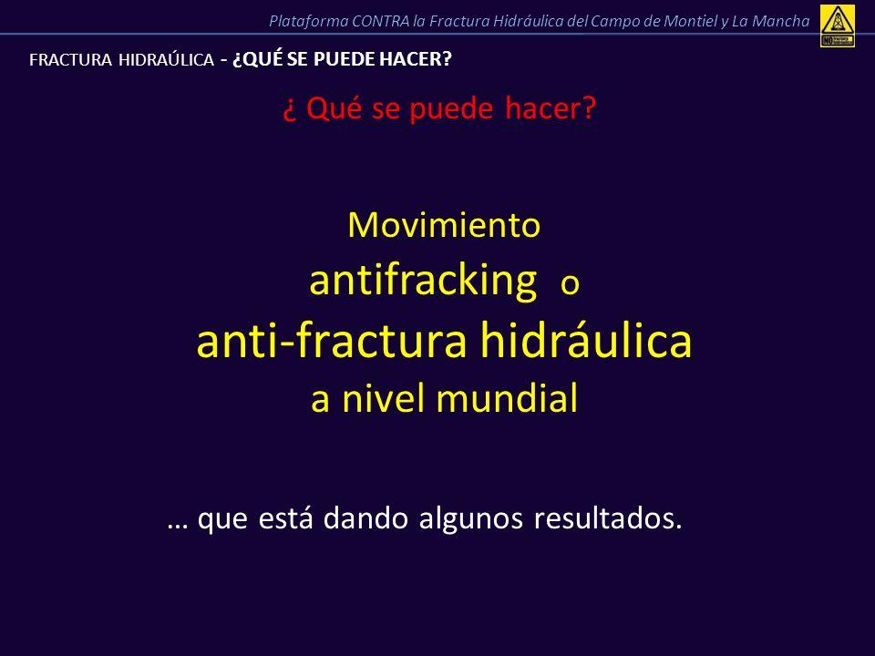 anti-fractura hidráulica