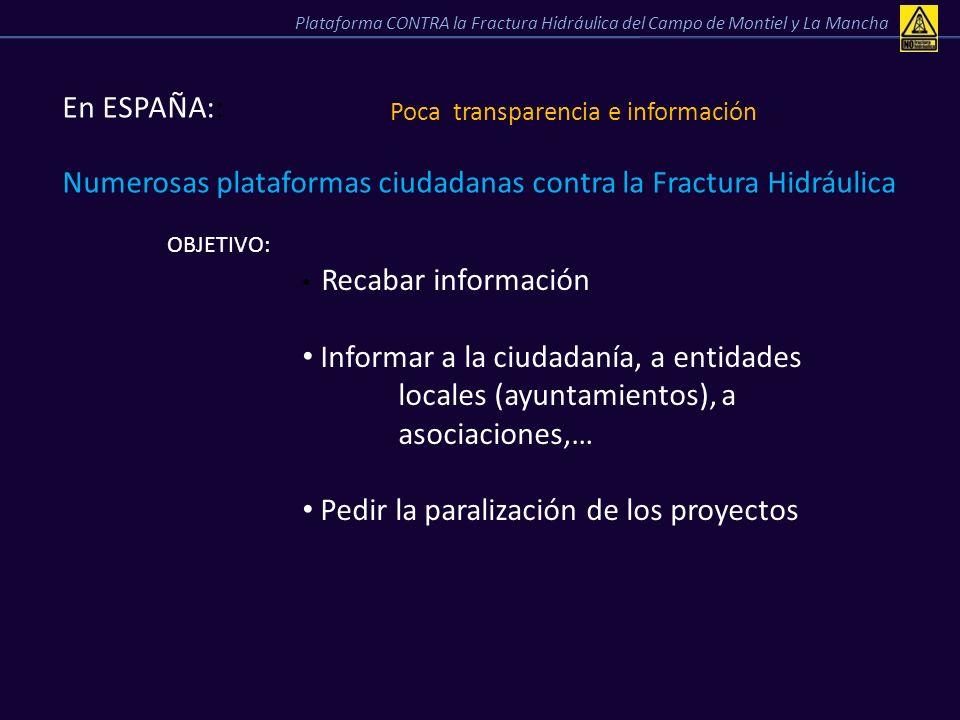 Poca transparencia e información