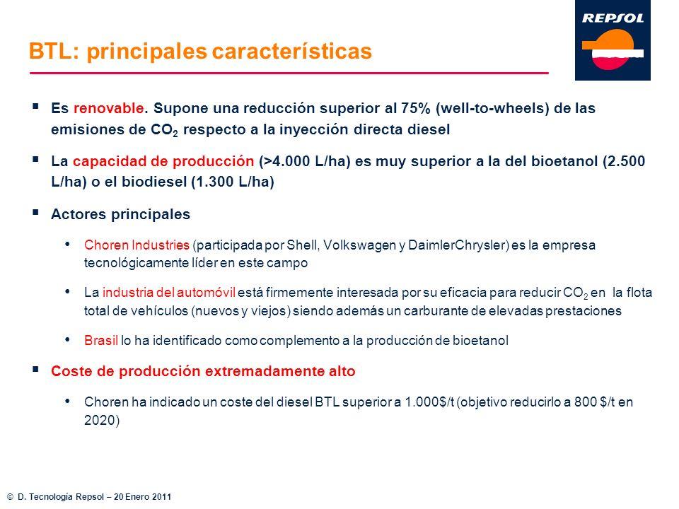 BTL: principales características