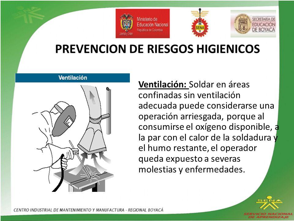 PREVENCION DE RIESGOS HIGIENICOS