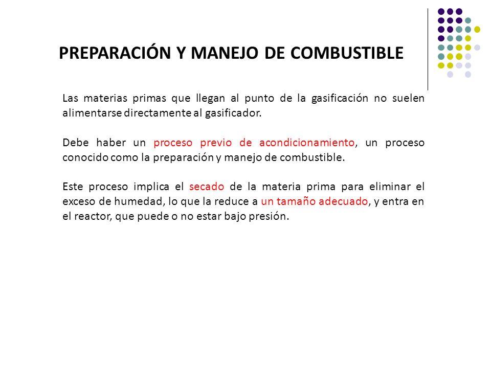 PREPARACIÓN Y MANEJO DE COMBUSTIBLE