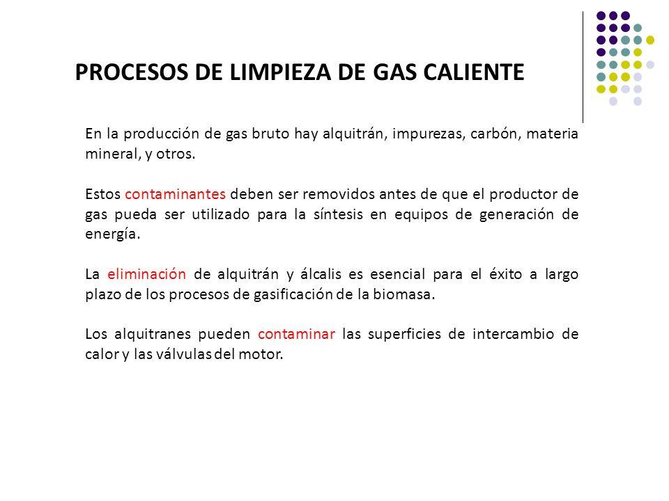 PROCESOS DE LIMPIEZA DE GAS CALIENTE