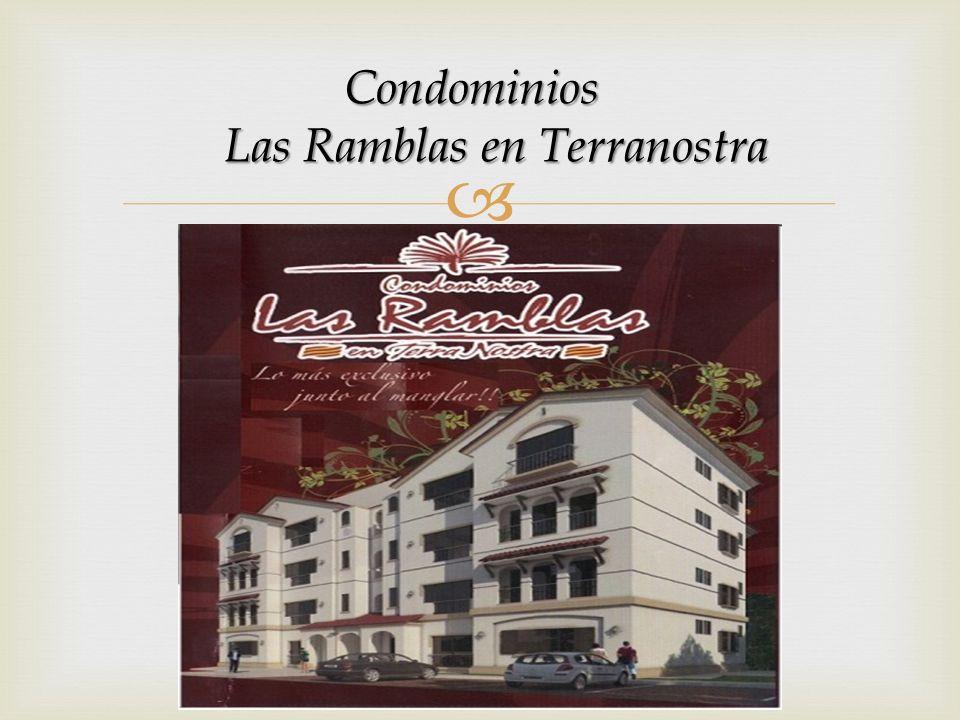 Condominios Las Ramblas en Terranostra