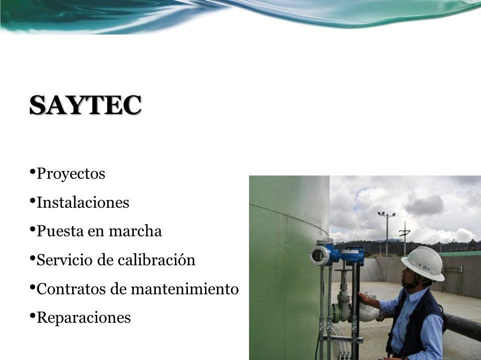 SAYTEC Proyectos Instalaciones Puesta en marcha