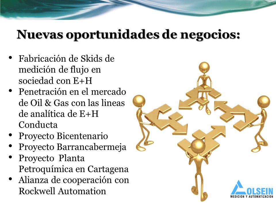 Nuevas oportunidades de negocios: