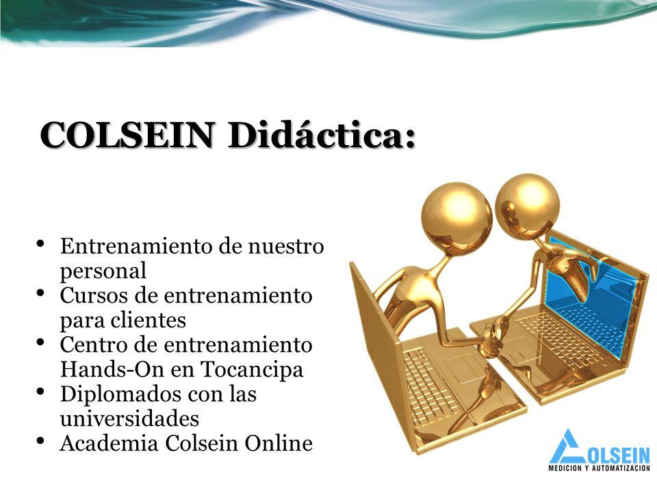 COLSEIN Didáctica: Entrenamiento de nuestro personal