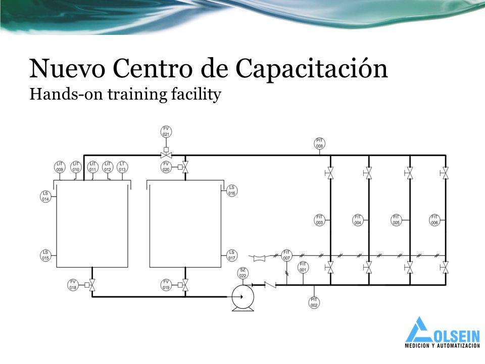 Nuevo Centro de Capacitación Hands-on training facility