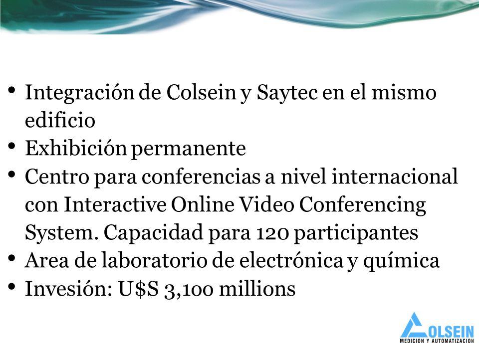 Integración de Colsein y Saytec en el mismo edificio