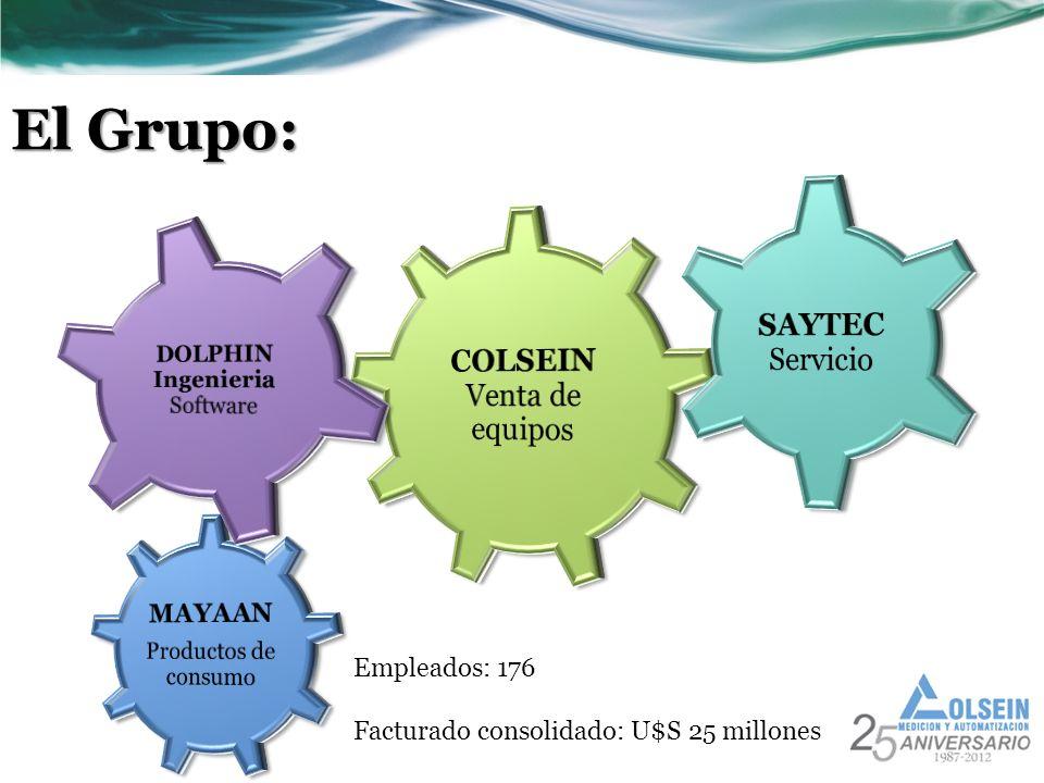 El Grupo: SAYTEC Servicio COLSEIN Venta de equipos MAYAAN