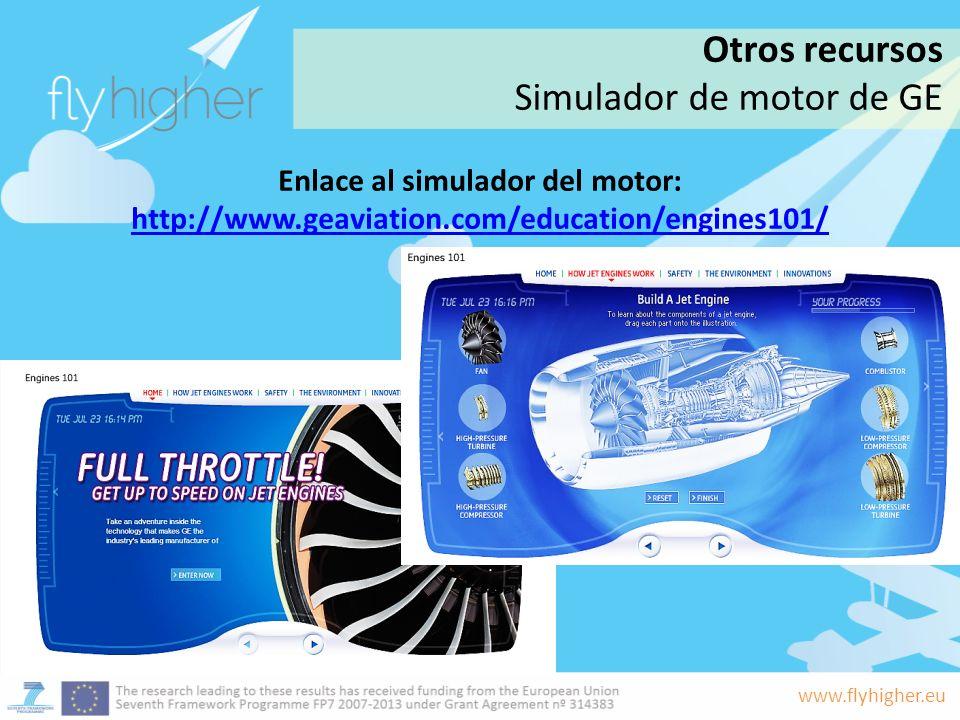Simulador de motor de GE
