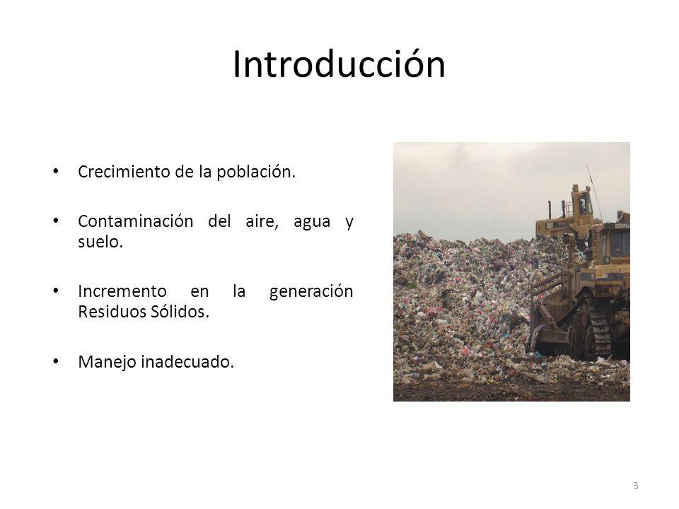 Introducción Crecimiento de la población.