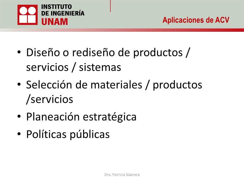 Diseño o rediseño de productos / servicios / sistemas