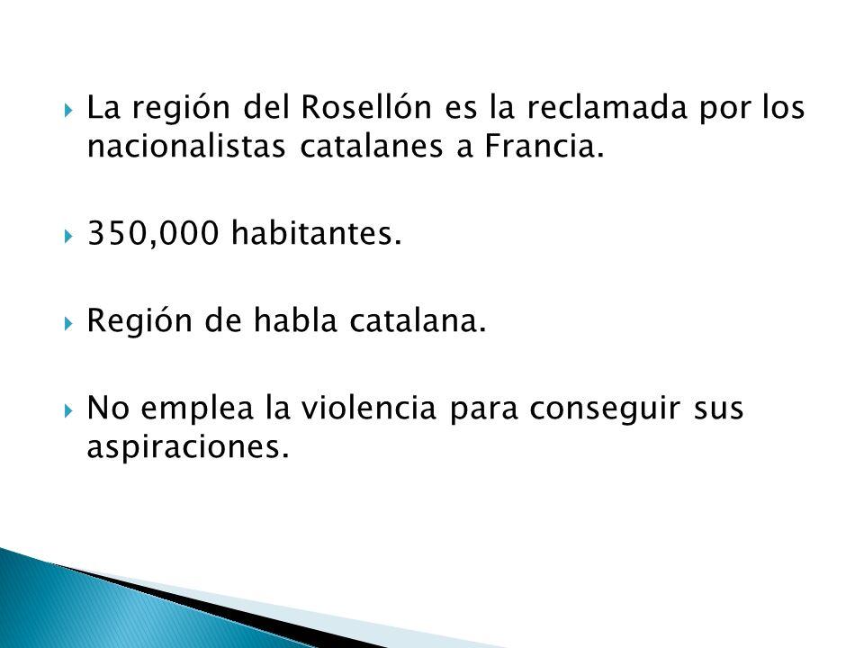La región del Rosellón es la reclamada por los nacionalistas catalanes a Francia.