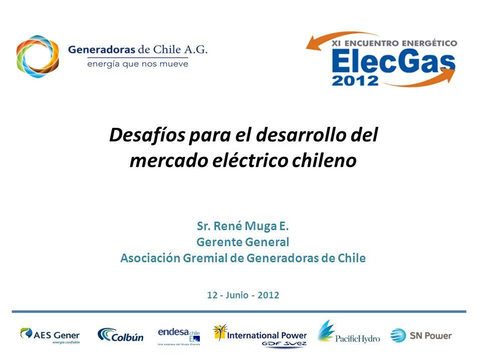 Desafíos para el desarrollo del mercado eléctrico chileno