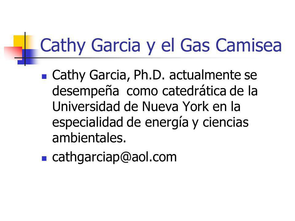 Cathy Garcia y el Gas Camisea