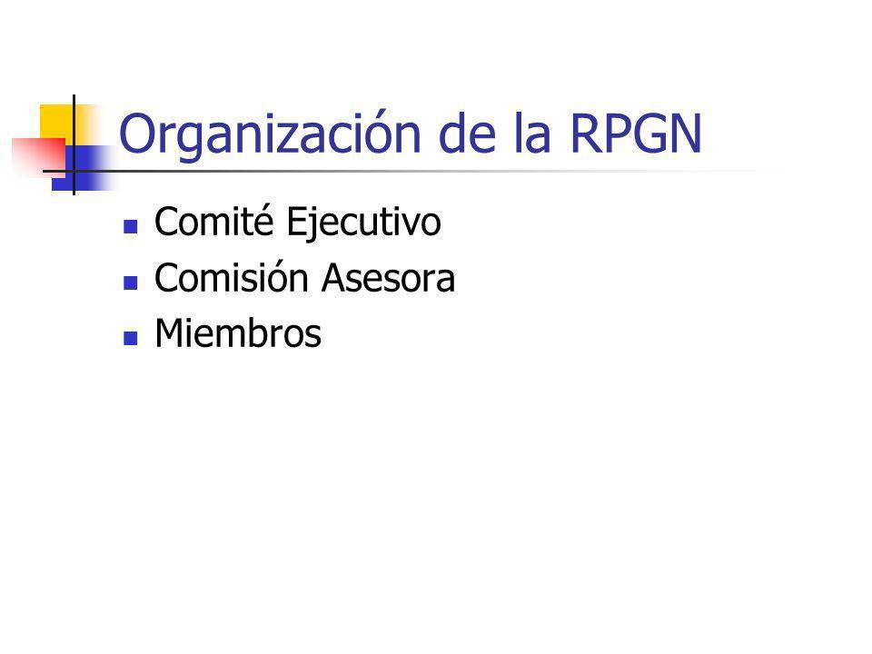 Organización de la RPGN
