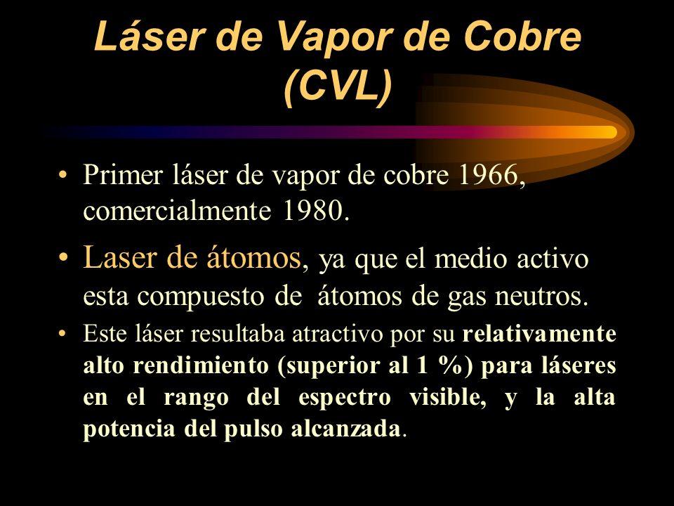 Láser de Vapor de Cobre (CVL)