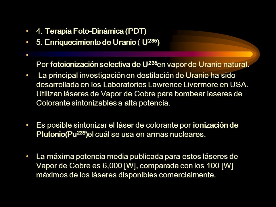 4. Terapia Foto-Dinámica (PDT)