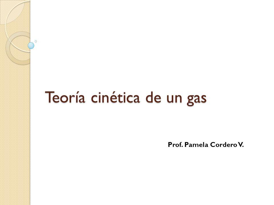 Teoría cinética de un gas