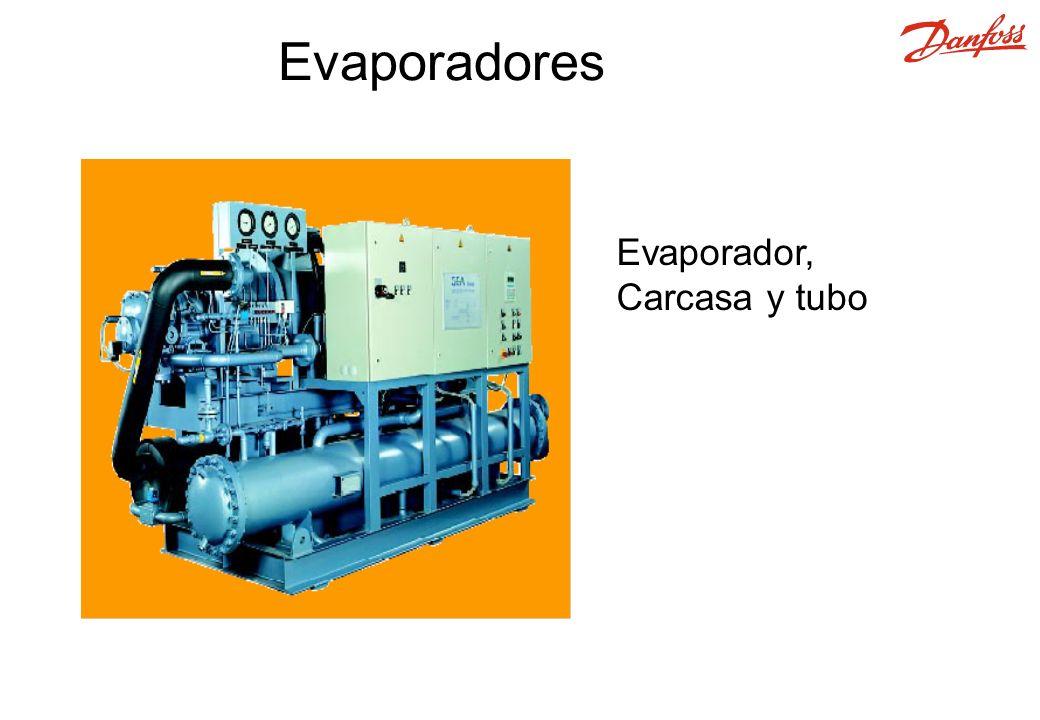 Evaporadores Evaporador, Carcasa y tubo 24 11