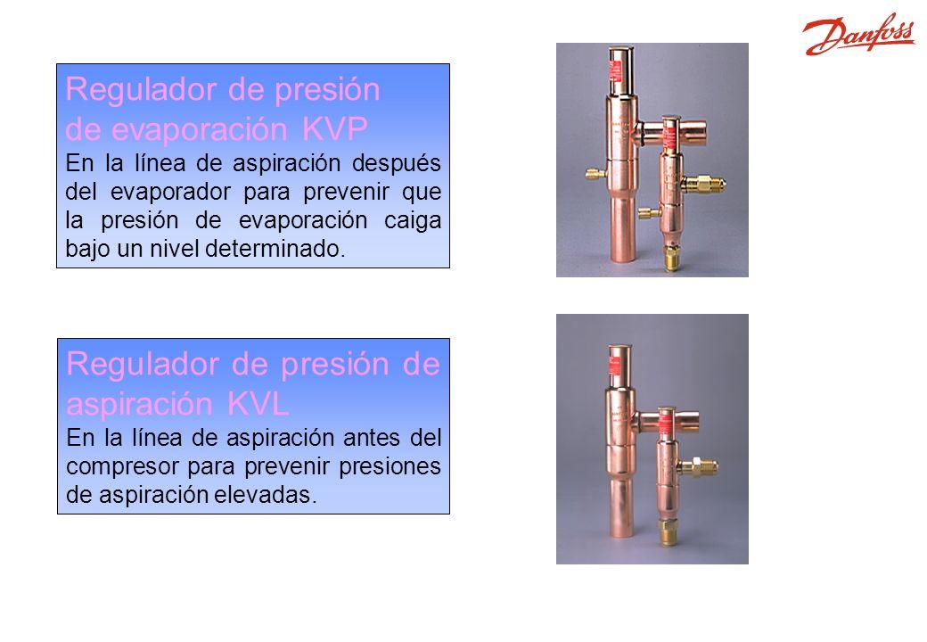 KVP, KVL Regulador de presión de evaporación KVP