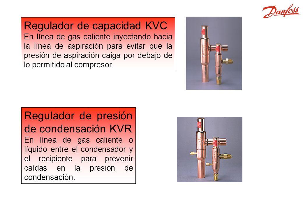 KVC, KVR Regulador de capacidad KVC