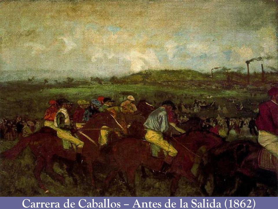 Carrera de Caballos – Antes de la Salida (1862)