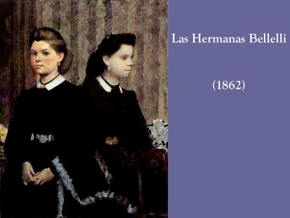 Las Hermanas Bellelli (1862)