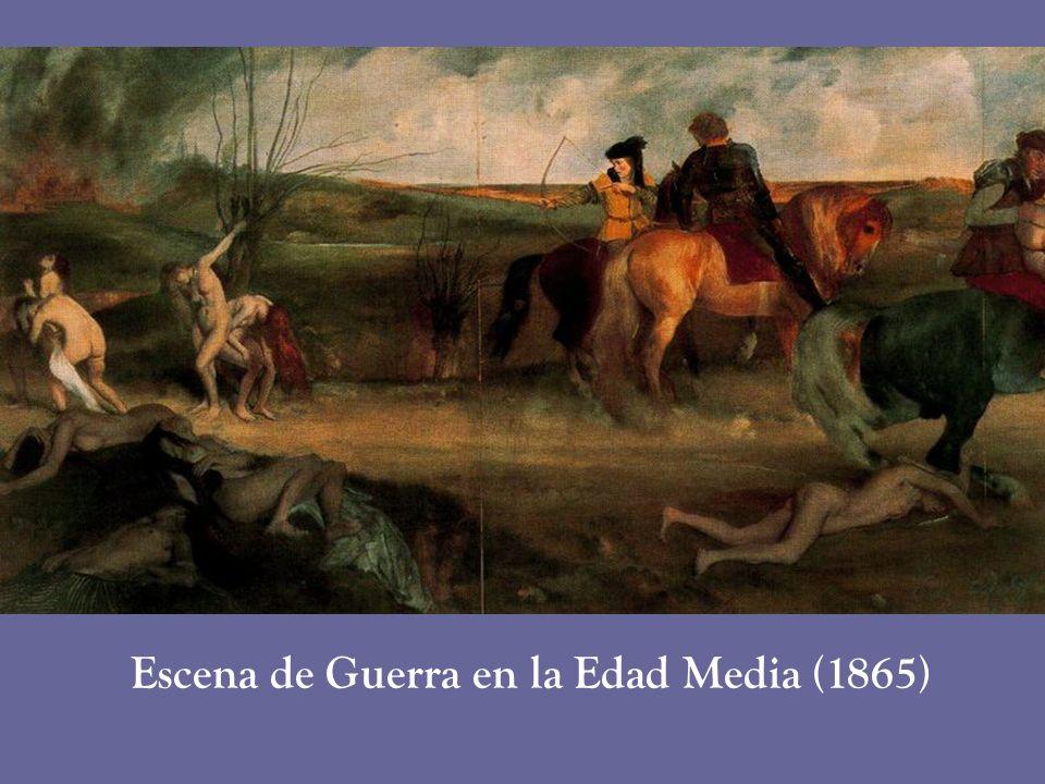 Escena de Guerra en la Edad Media (1865)