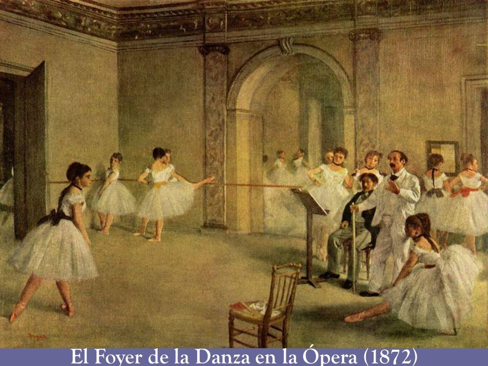 El Foyer de la Danza en la Ópera (1872)