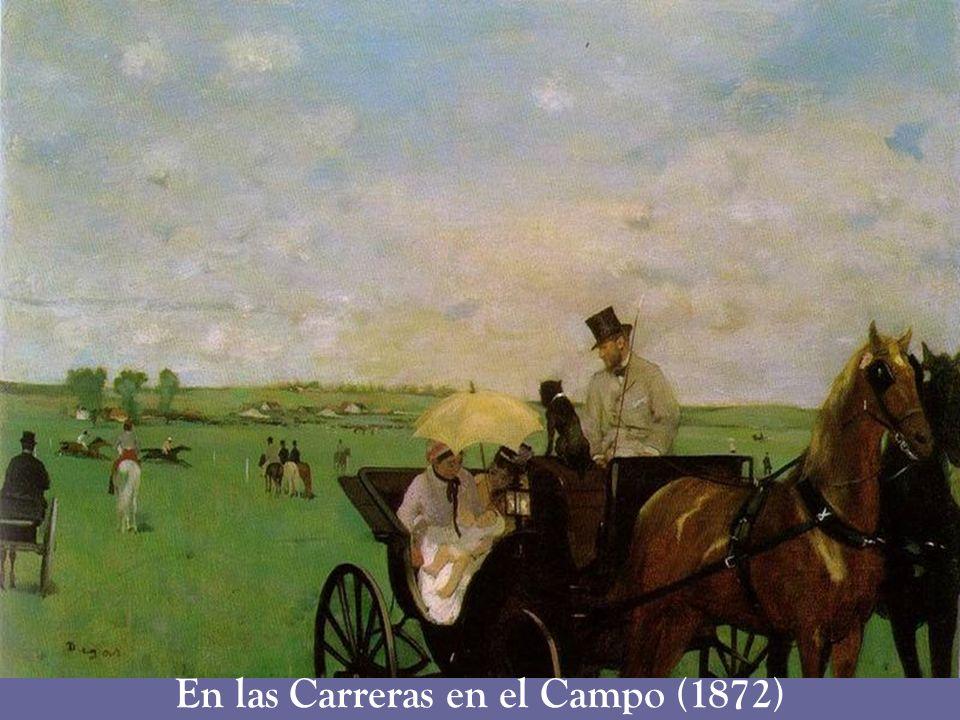 En las Carreras en el Campo (1872)