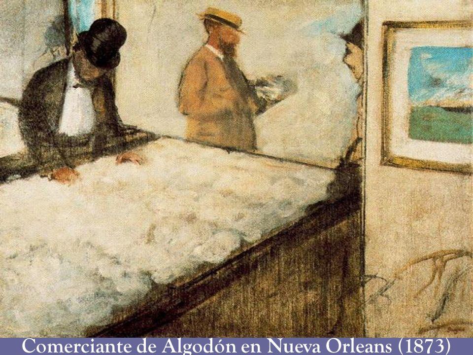 Comerciante de Algodón en Nueva Orleans (1873)