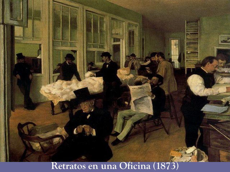 Retratos en una Oficina (1873)