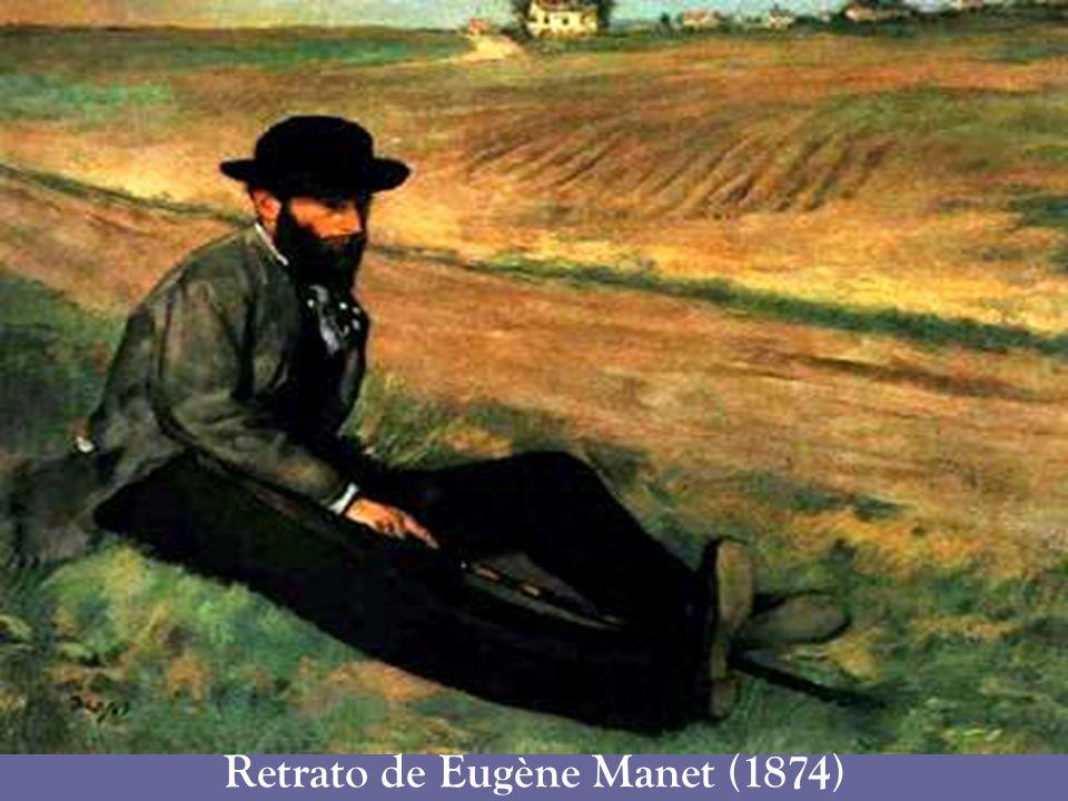 Retrato de Eugène Manet (1874)