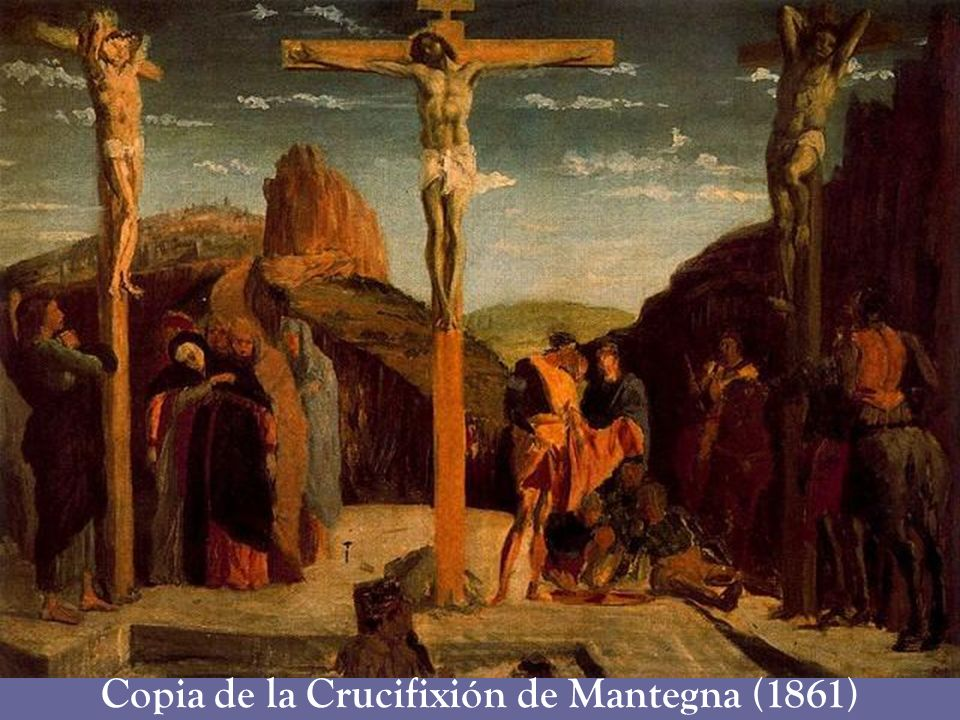 Copia de la Crucifixión de Mantegna (1861)
