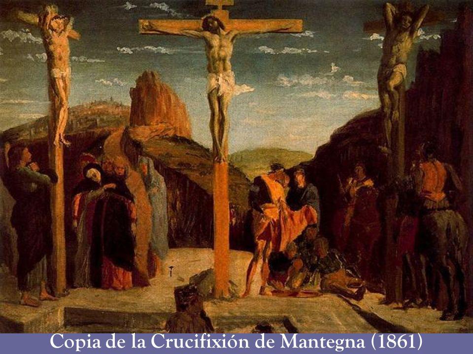Copia de la Crucifixión de Mantegna (1861)