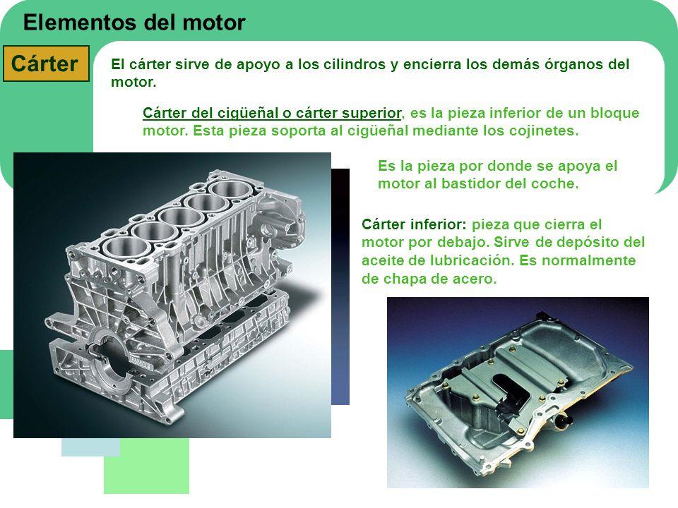 Elementos del motor Cárter