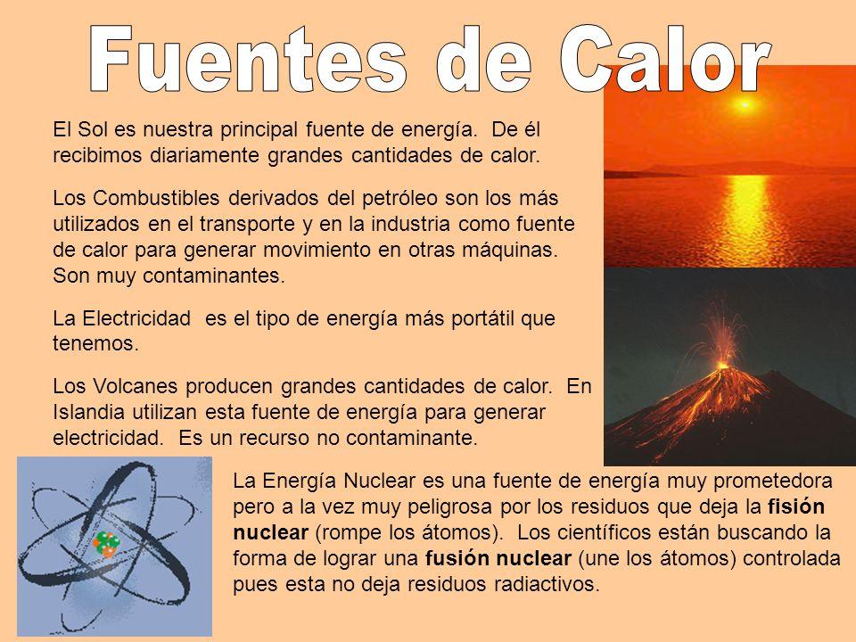 El Sol es nuestra principal fuente de energía