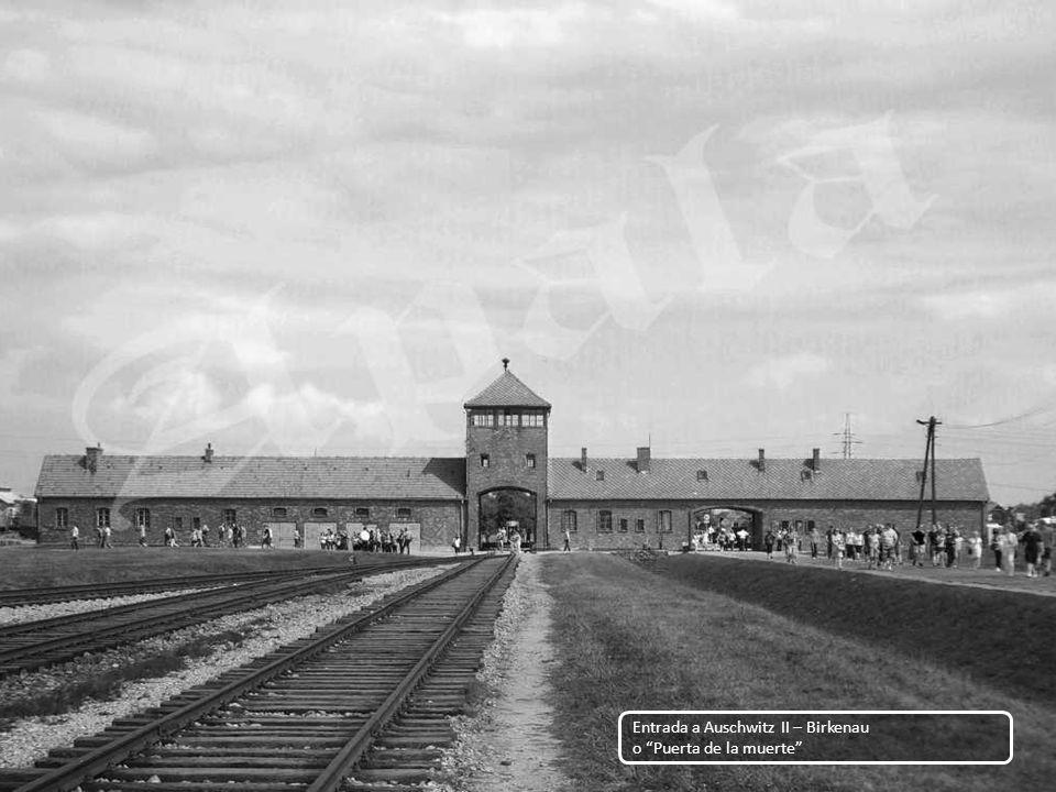 Entrada a Auschwitz II – Birkenau