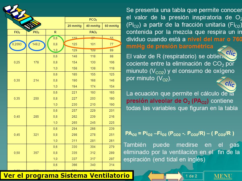 Ver el programa Sistema Ventilatorio
