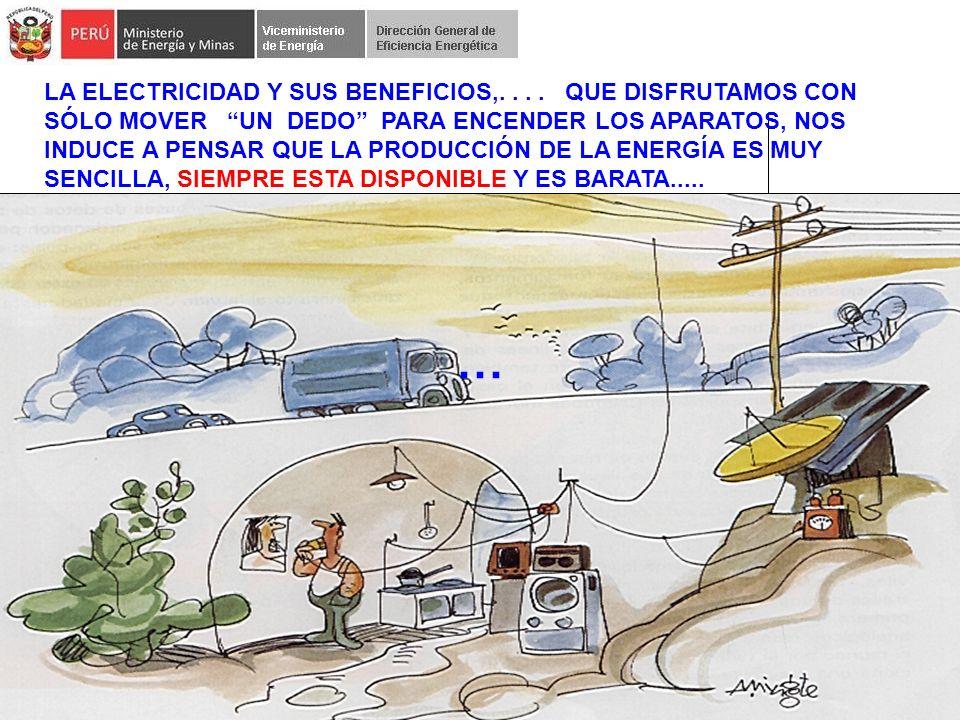 LA ELECTRICIDAD Y SUS BENEFICIOS,