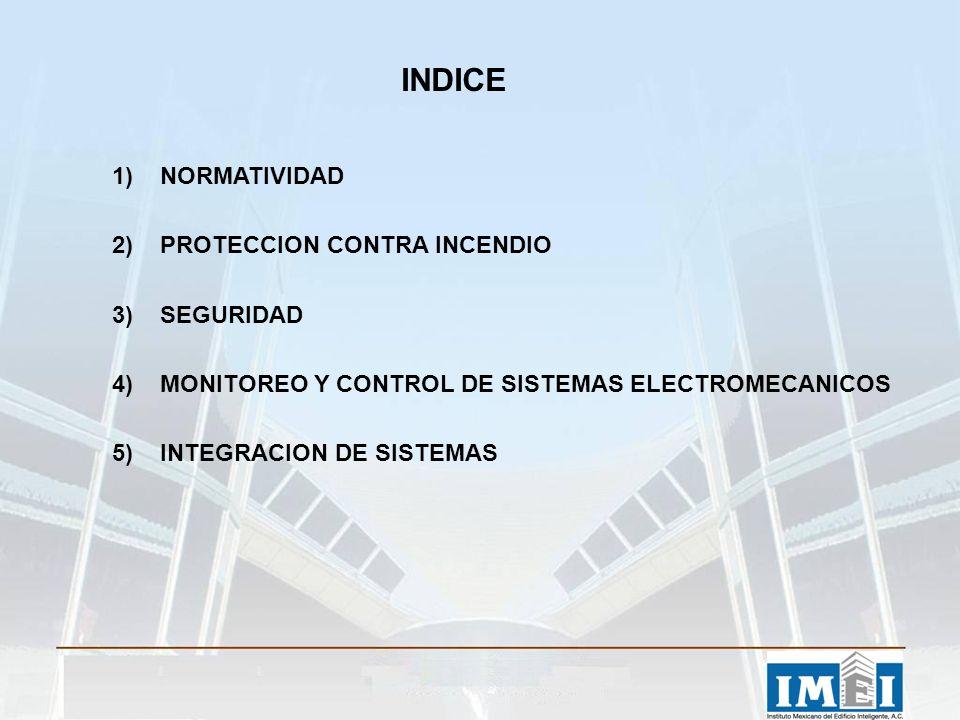 INDICE NORMATIVIDAD PROTECCION CONTRA INCENDIO SEGURIDAD