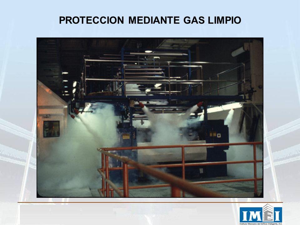 PROTECCION MEDIANTE GAS LIMPIO