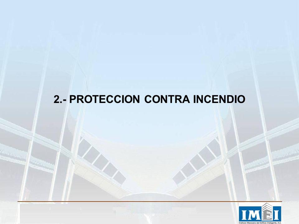 2.- PROTECCION CONTRA INCENDIO