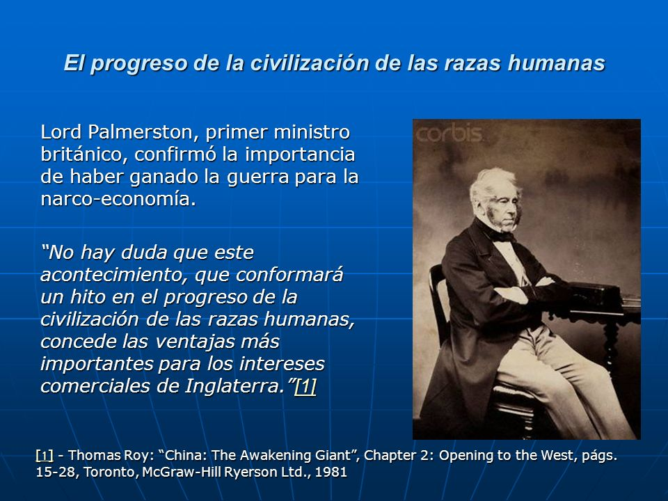 El progreso de la civilización de las razas humanas