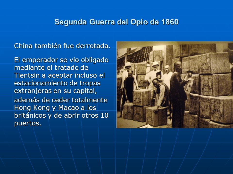 Segunda Guerra del Opio de 1860