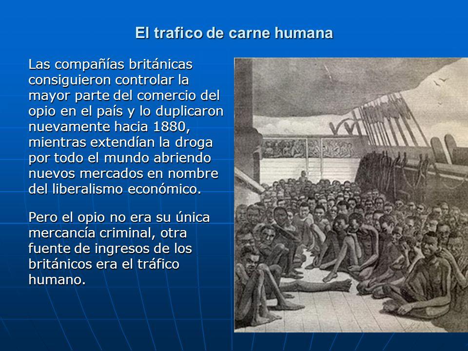 El trafico de carne humana