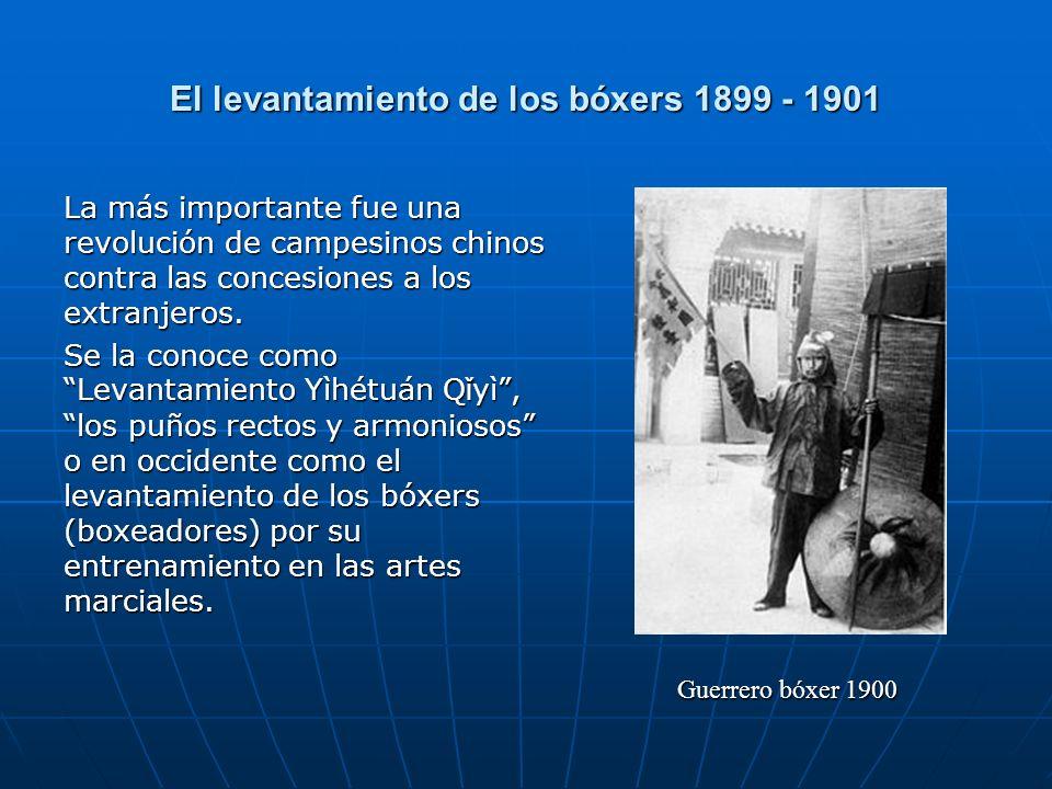 El levantamiento de los bóxers 1899 - 1901